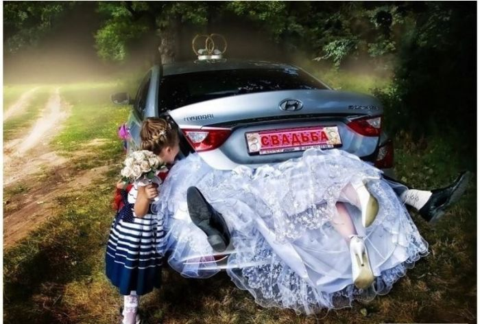 Funny Wedding Photos from Eastern Europe (40 pics)