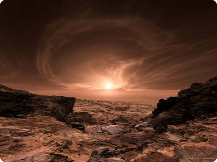 Sunrise on Mars (17 pics)