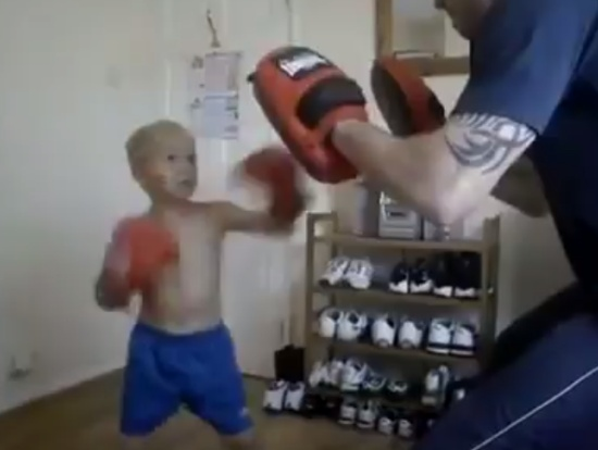 5-Years-Old Future Star of Boxing
