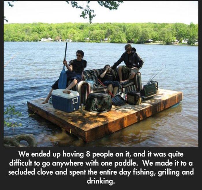 The Great Raft (5 pics)