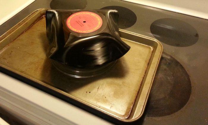 Vinyl Record Bowls (8 pics)