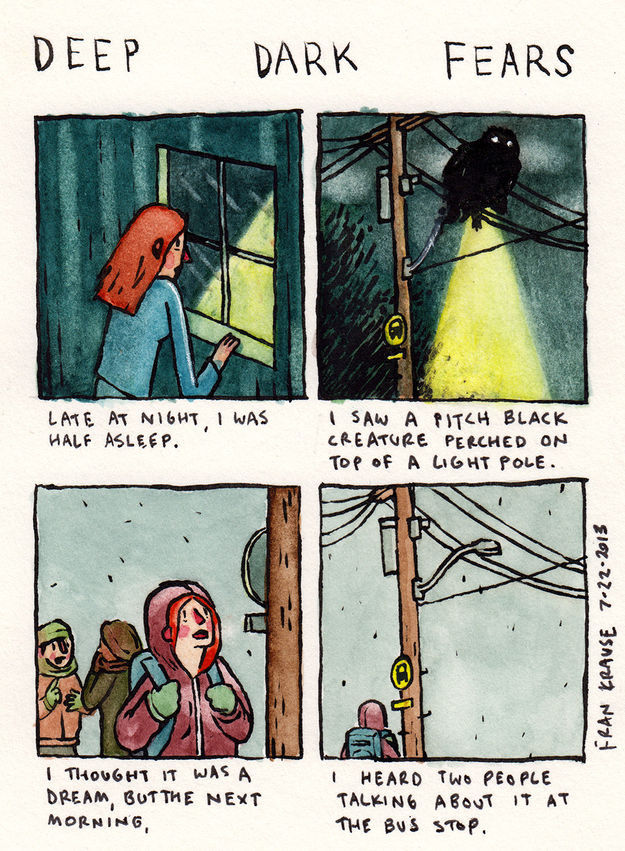 Deep Dark Fears (27 pics)