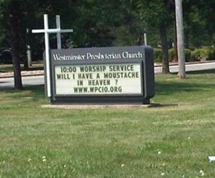 Hilarious Church Signs (24 pics)