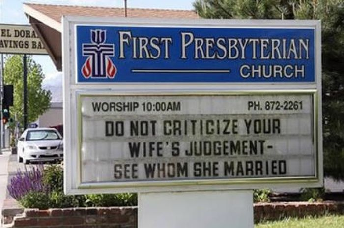 Hilarious Church Signs (24 pics)