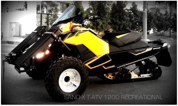 Sand-X | T-ATV 1200 (20 pics)