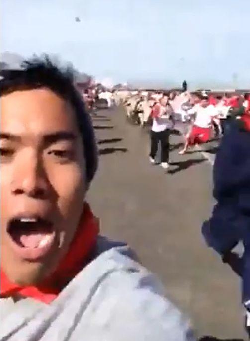 Extreme Selfie (2 pics + video)