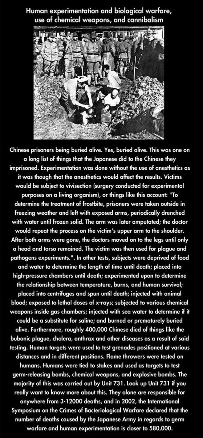 Japanese War Crimes in WWII (8 pics)