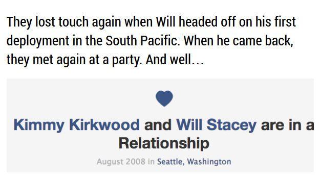 Sad Love Story Told through Facebook Updates (14 pics)