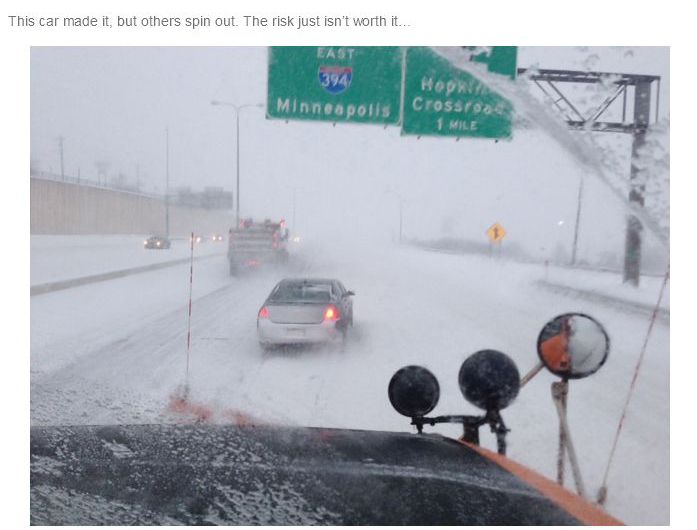 What Is It Like to Be a Snowplow Driver (26 pics)
