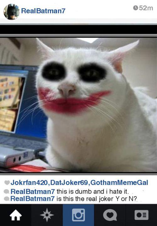 If Batman Had An Instagram Account (12 pics)