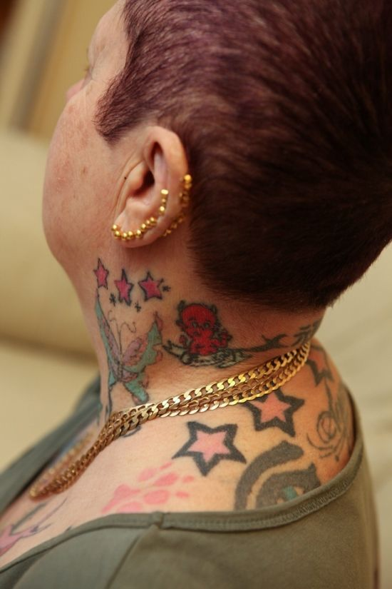 Grandmother with 286 Tattoos (9 pics)