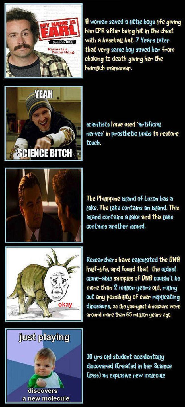Unbelievable but True Facts. Part 4 (5 pics)