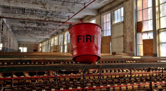 Inside an Abandoned Silk Mill (17 pics)