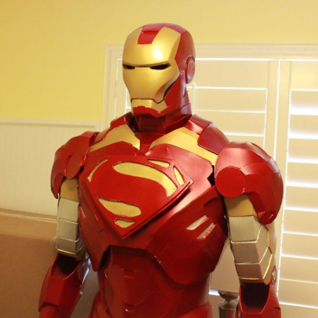 DIY Iron Man Costume (15 pics)