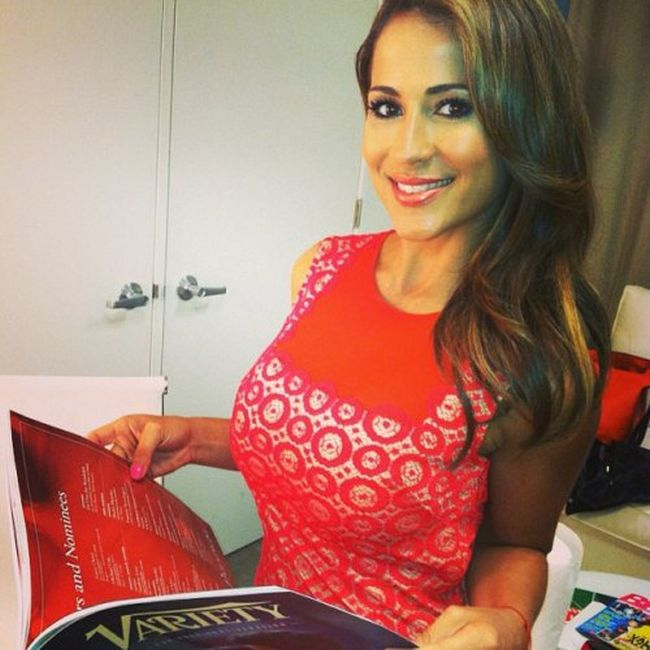 Busty Weather Girl Jackie Guerrido (20 pics)