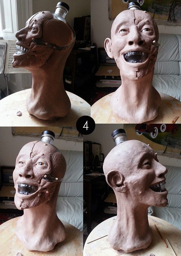 The Face of Crystal Head Vodka Bottle (6 pics)