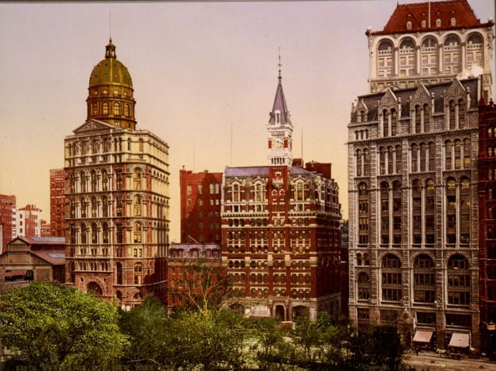 Photos of NYC in 1900 (36 pics)