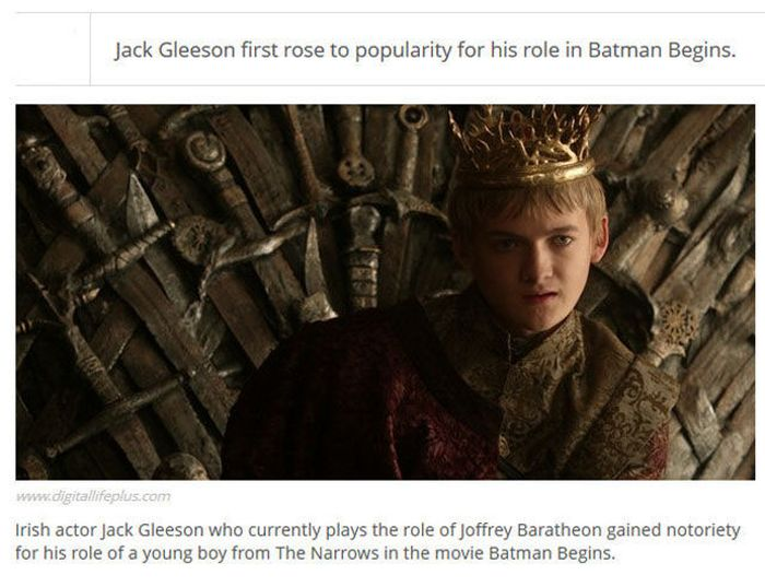 Game of Thrones Facts (25 pics)