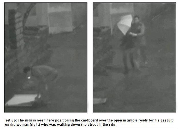 Boyfriend Stuffed his Girlfriend Down a Manhole