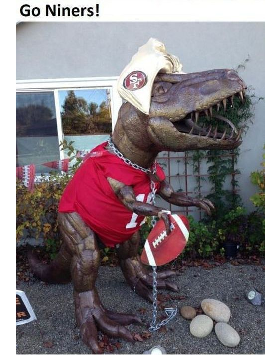 Lawn Dinosaur (16 pics)