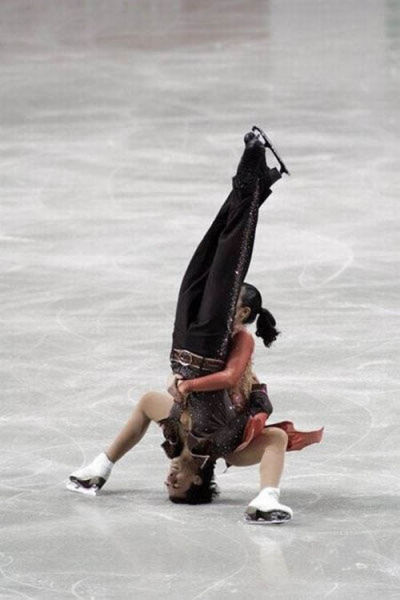 Figure Skating Seen Different (30 pics)