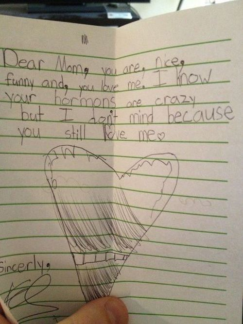 Notes From Kids (16 pics)