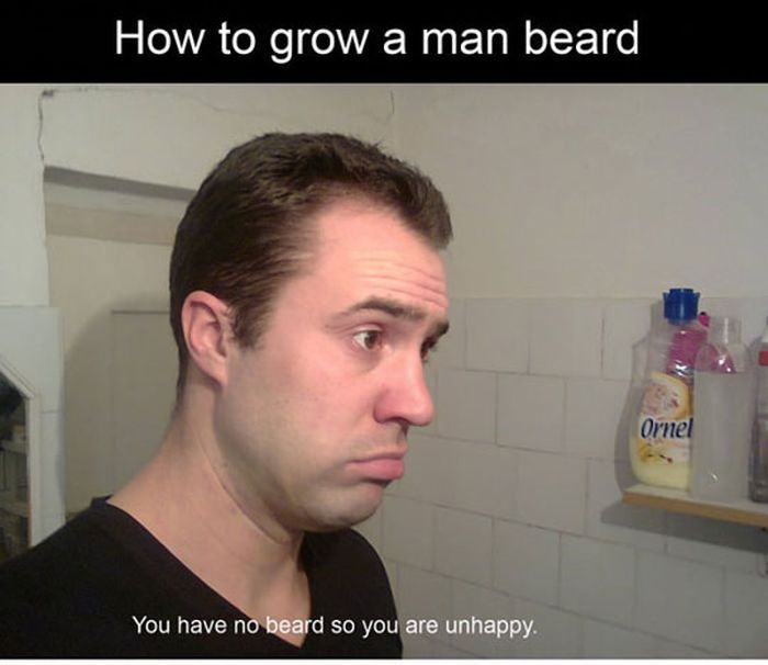 How to Grow a Man Beard (13 pics)