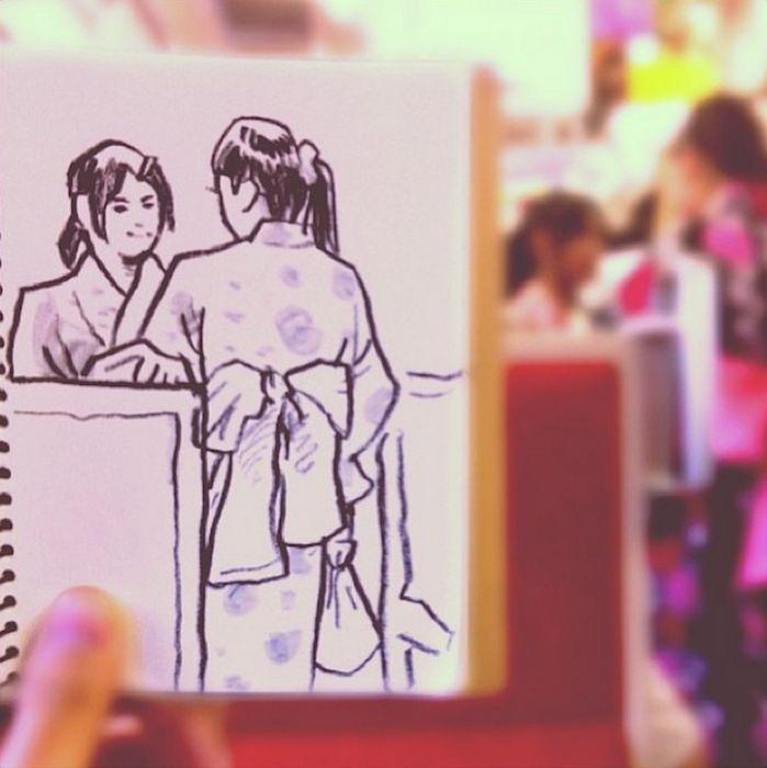 Tokyo Sketches (20 pics)