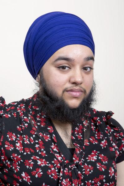 Bearded Woman (21 pics)