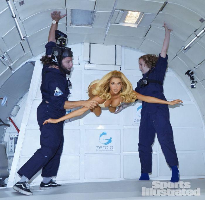 Kate Upton in Zero Gravity (7 pics)