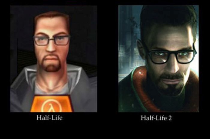 Video Game Characters Then And Now (23 pics)