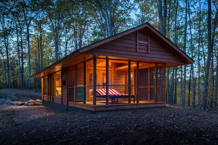 Cabin in the Woods (12 pics)