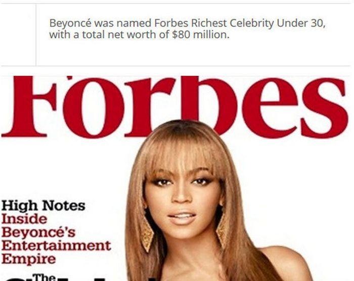 Interesting Facts about Beyoncé (25 pics)