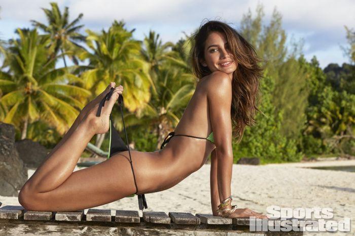 Model Lily Aldridge Swimsuit 2014 (36 pics)