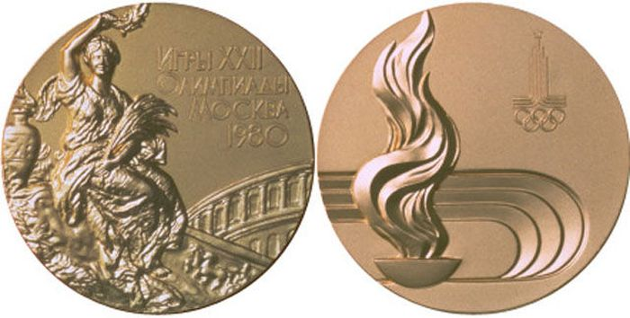 The Evolution of Olympic Gold Medals (49 pics)