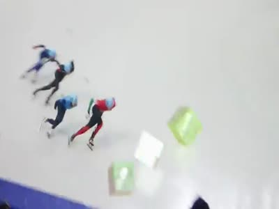 Skating the Mario Kart at the Olympics