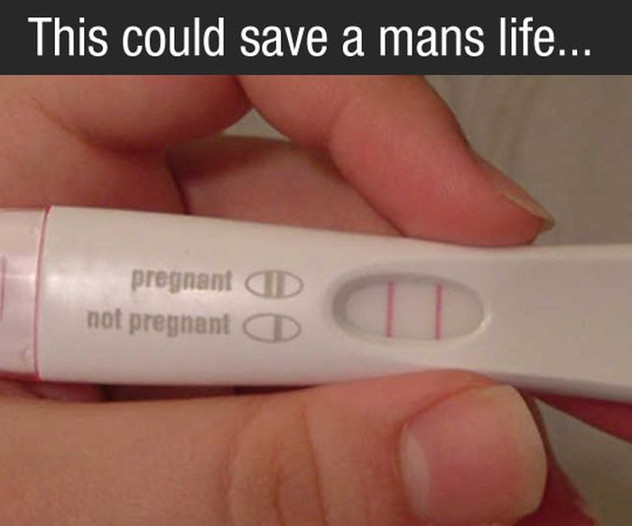 Pregnancy Test Can Save a Man's Life