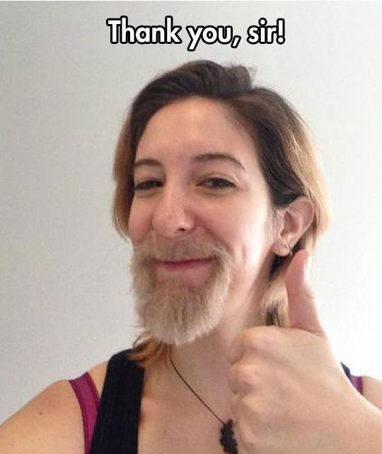 Growing a Man Beard (15 pics)