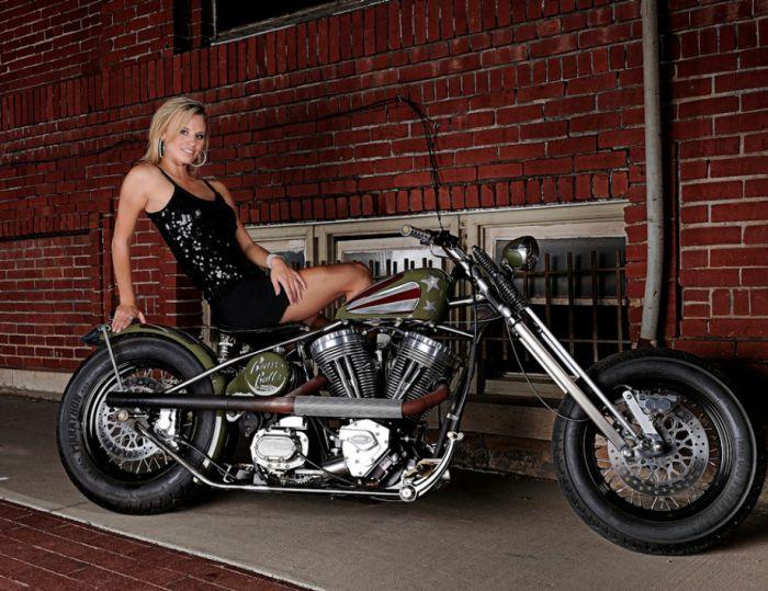 Μοτοσικλέτα Κορίτσια (48 pics)