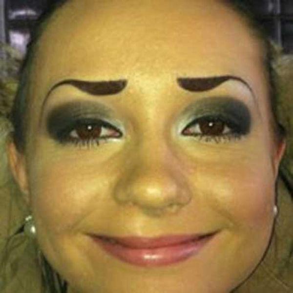 Weird Eyebrows 40 Pics