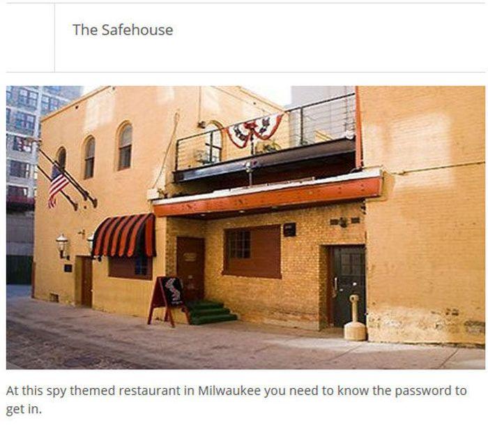 The Most Unique Restaurants (25 pics)