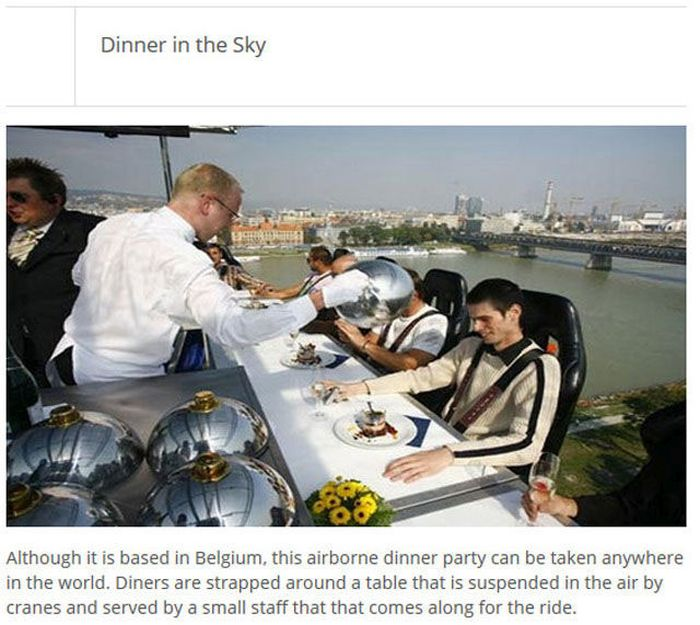 The Most Unique Restaurants (25 pics)