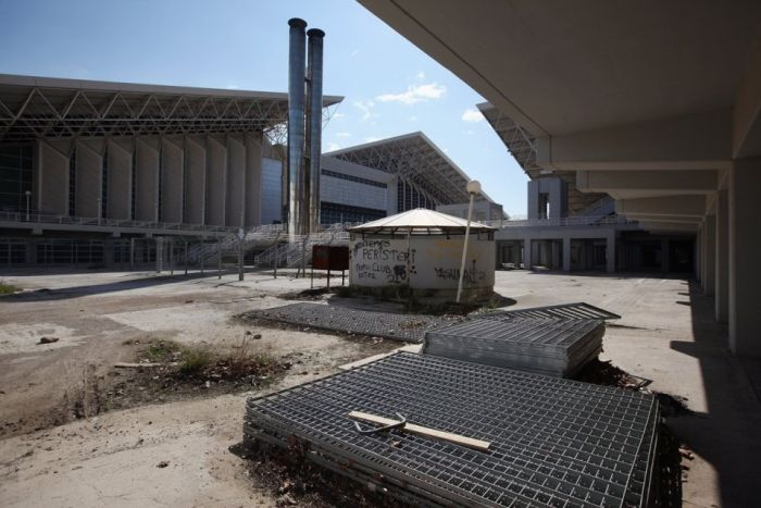 Abandoned Olympic Sites in Athens (21 pics)