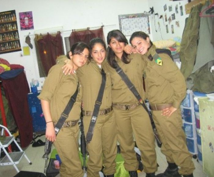 Girls of Israel Army Forces. Part 7 (45 pics)