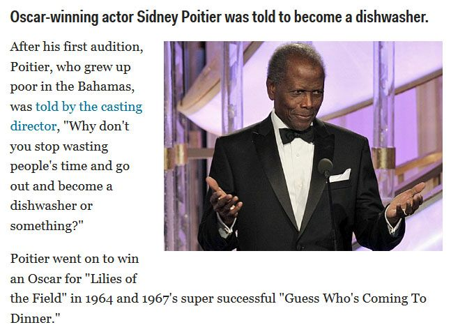 People Who Failed Before They Became Famous (13 pics)