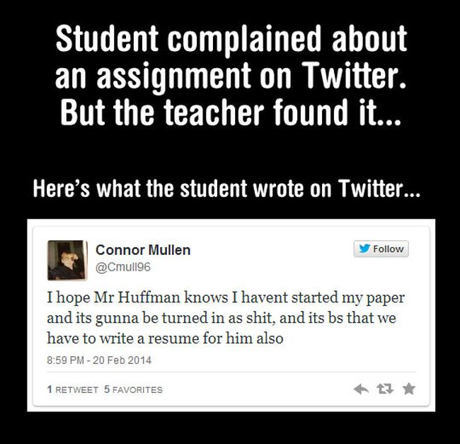 Awesome Teacher's Response (3 pics)