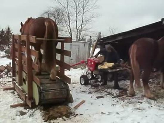Hand-Made One Horse Power Splitter