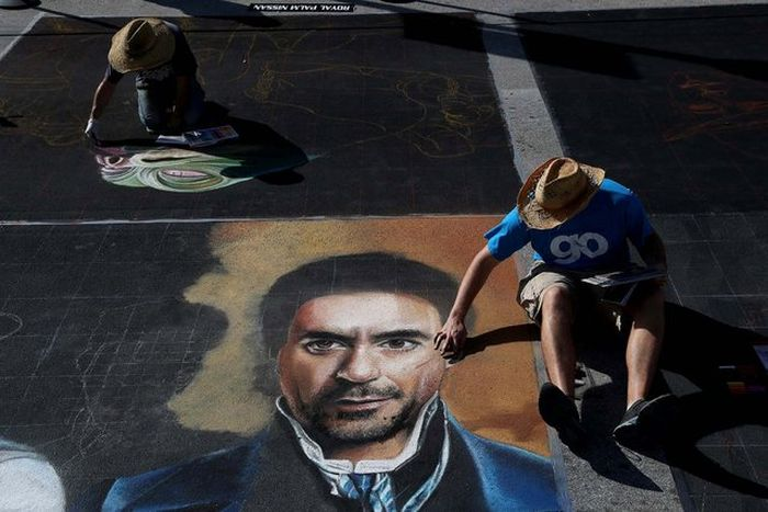 The 20th Annual Lake Worth Street Painting Festival (29 pics)