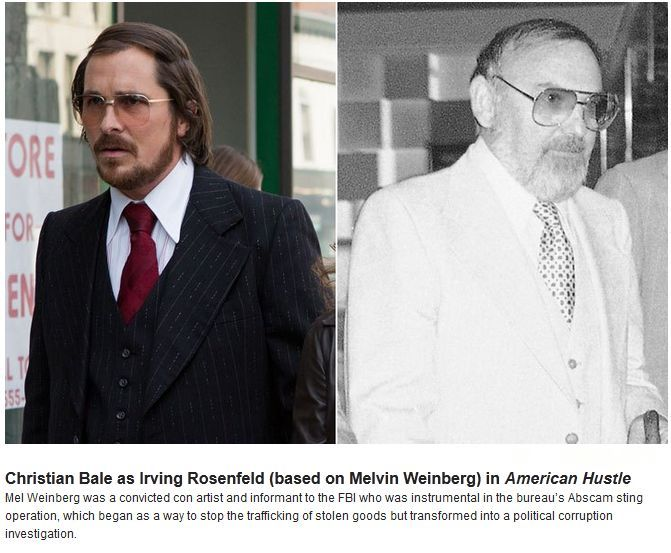 Oscar Nominated Actors vs Real Life Characters (6 pics)