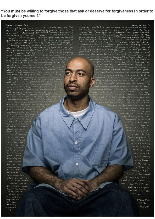Inmates Give Advices to Their Younger Self (10 pics)